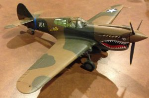 P40 WarHawk by Our Resident Fine Scale Modeler