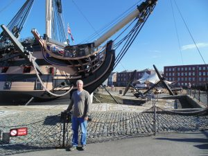 "HMS Victory. Dear Husband of 30 years is 6'2"" for reference"